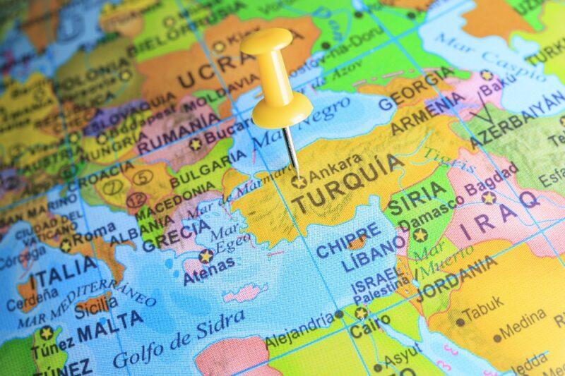 Turcja na mapie